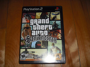 Grand Theft Auto GTA San Andreas Playstation 2 Ps2 Complet