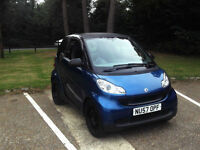 LATE 2007 57 SMART FORTWO 1.0 ( 61bhp ) PURE PX SWAP SWOP