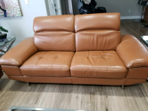 Beautiful Leather Living room Set MUST GO ASAP