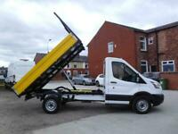 2015/15 FORD TRANSIT 350 ONE STOP TIPPER ONE OWNER