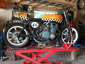 For sale 1976 Kawasaki KZ9, retrofitted Cafe style