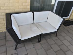 IKEA outdoor 2 seater