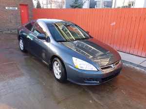 2007 Honda Accord ( manual transmission  )