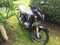 Jinshe 125cc motorbike, unregistered