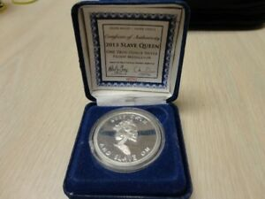 2013 Slave Queen 1 ounce Silver Coin