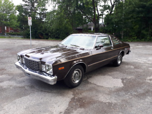 1979 PLYMOUTH VOLARE SURVIVOR