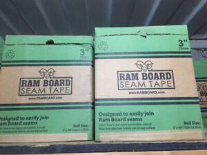 "Rather trade than chuck it out!! 3"" Ram Board Seam Tape Lot"