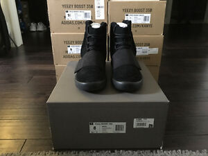 Yeezy Boost 750 -  Triple Black (Size 8)
