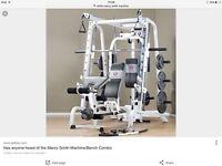 Marcy smith machine