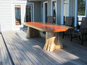 Quality hand made real wood tables lcoally crafted Comox / Courtenay / Cumberland Comox Valley Area image 7