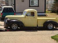 """""""WILL CONSIDER A 1955 CHEV 2 DOOR POST AS POSSIBLE TRADE """""""