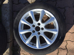 """17"""" Acura Rims and Michelin Tires"""
