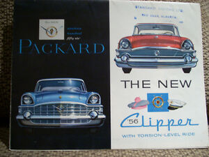 1956 Packard sales folder