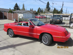 1990 Chrysler LeBaron Convertible for sale
