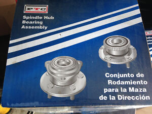 90's Jeep front axle bearing hub assembly