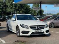 2015 Mercedes-Benz C-CLASS 2.1 C250 BLUETEC AMG LINE 4d 204 BHP Saloon Diesel Au