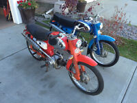 Wanted Vintage Honda motorcycles from 1960's, early 70's