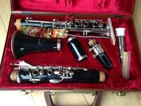 Buffet Crampon Evette Bb Student Clarinet with stand and books