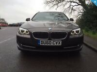 60 reg BMW 520d estate, manual, new shape