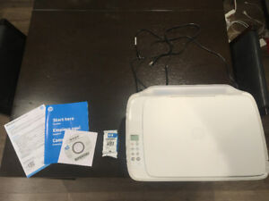 HP All-in-One Printer with Cartridges