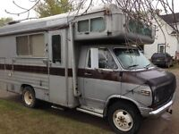 Are you lookin for a Barth Motorhome for Cravin.
