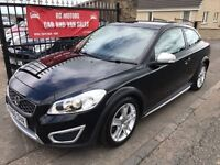 2010 (60) VOLVO C30 S D DRIVE, SERVICE HISTORY, WARRANTY, NOT GOLF A3 ASTRA FOCUS MEGANE 308