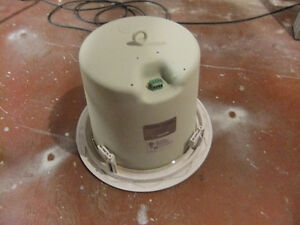 atlas sound fapsub in ceiling subwoofer  60 watt