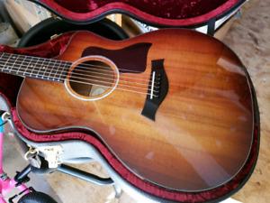 Taylor Hawaiian Koa Electric Acoustic Guitar - New Condition