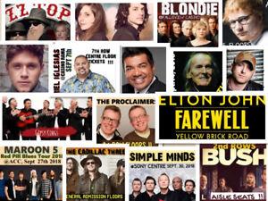 Upcoming popular Concerts in Toronto ♦Guaranteed Tix/Best Seats♦