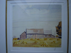 """Initialed A.J. Casson-""""Harvest Time"""" Artists Proof Kitchener / Waterloo Kitchener Area image 2"""
