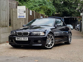 BMW M3 3.2 2002 MANUAL 90k MILES VERY CLEAN CAR NEW TYRES AND BRAKES AND DISCS