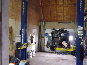 automotive hoist and other equipment