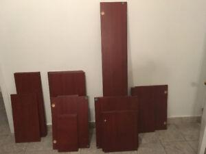 portes d'armoires de cuisine - grandeur variées
