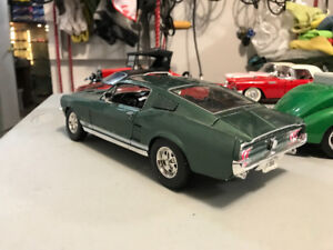 Ford Mustang gta 1968 Diecast 1/18 die cast