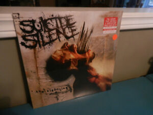 Vinyl Records/LP's Heavy Metal Suicide Silence Sealed Lot of 2
