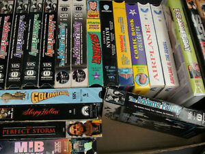 vhs tapes-collectible  Airplane series, Superheroes...