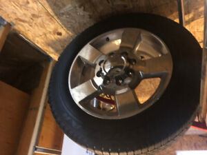Sierra 2500 Rims and Tires