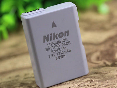 EN-EL14A Camera Battery For NikonD3100 D3200 D3300 D5200 D5300 D5500 P7700 P7800