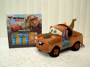 Disney Play-a-Sound Story Book w/Plush Pillow Truck