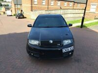 2006 06 SKODA FABIA VRS 1.9 TDI BLACK REMAPPED LAUNCH CONTROL LEATHER SEATS
