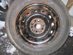 "Four 14"" RIMS 5X100 bolt pattern (previously on Subaru) Gatineau Ottawa / Gatineau Area image 3"
