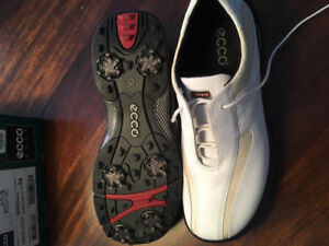 NEW ECCO ladies golf shoes - size 8