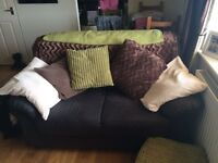 Two am three seater sofas