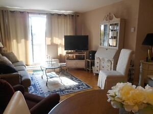 secure condo building with parking, pool, work out room,