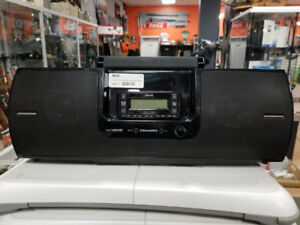 Sirius Satellite Radio Boom Box, With Receiver and Subscription