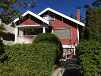 4 BR Character House For Rent in Granville/Marine Drive area