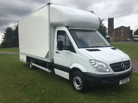 Mercedes Sprinter 313Cdi Lwb 3.5T 16ft Removal Dropwell Luton Van, Very Clean