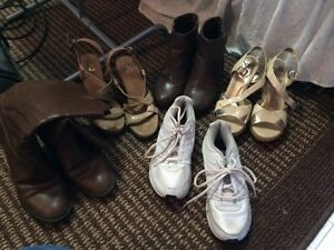 Lot of women's size 8 shoes (8 pairs)