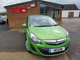 2014 Vauxhall Corsa 1.2i 16v ( 85ps ) MANUAL PETROL PX WELCOME