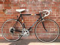 VINTAGE RETRO PEUGEOT ROAD RACING BIKE IDEAL STUDENT COMMUTER BICYCLE BLACK